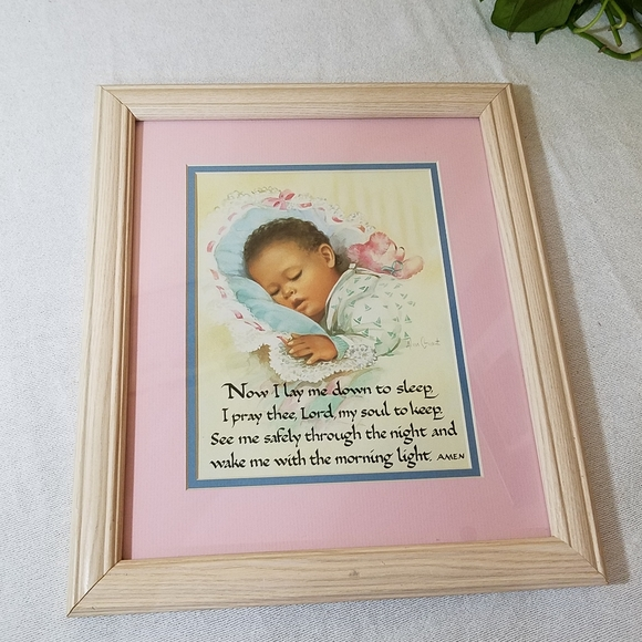 """Infant Picture, """"Now I Lay Me Down to Sleep..."""""""